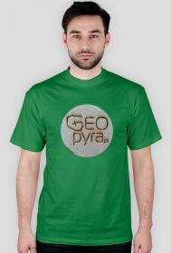 Tiszert GEOPYRA woodcoin - zielony