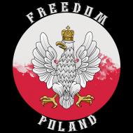 "Bluza z kapturem ""Freedom Poland"""