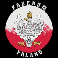 """Koszulka damska """"Freedom Poland"""""""