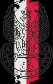 "Koszulka damska ""AK flaga"""