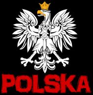 """Bluza z kapturem """"Polska"""""""