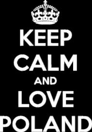 "Bluza z kapturem ""Keep Calm"""
