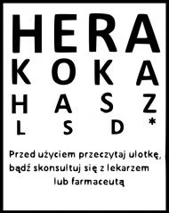 """Koszulka """"Hera Koka Hasz LSD"""""""