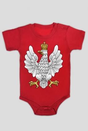 """Body dziecięce """"Godło II RP"""""""