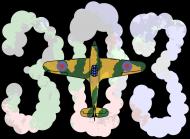 Dywizjon 303 chmury - koszulka męska Prawo Wilka