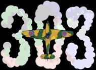 Dywizjon 303 chmury - koszulka damska Prawo Wilka