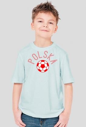 Piłka - koszulka kibica dziecięca Prawo Wilka