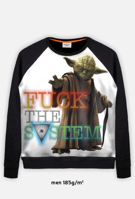 Yoda Bluza Full Black