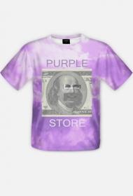 T-shirt Purple Store FullPrint #1