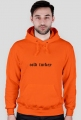 CLDTRKY hoodie by Roof+Cats ORANGE