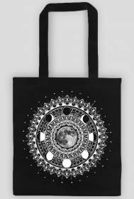 MANDALA MOON TOTE BAG