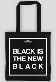BLACK IS THE NEW BLACK ECOBAG