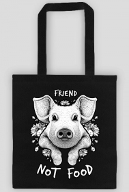 FRIEND NOT FOOD - vegan bag