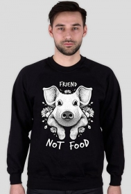 BLUZA FRIEND NOT FOOD