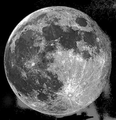 FULL MOON - ekotorba z księżycem