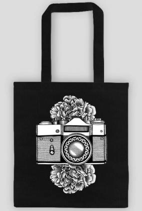 FLORAL CAMERA - ekotorba aparat fotograficzny
