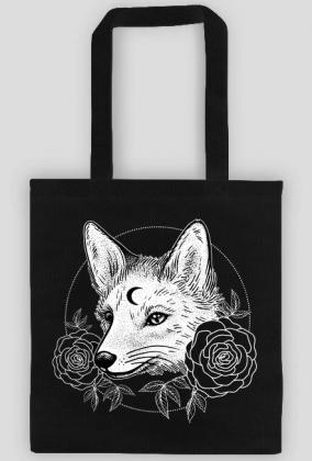 MOON FOX - torba z lisem w Kosmosy