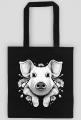 TORBA FLORAL PIG