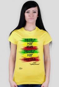 T-shirt Musisz mieć plan