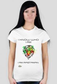T- shirt I know who i am