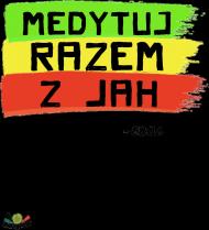 T- shirt Medytuj razem z Jah