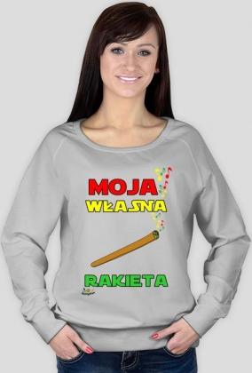 Bluza - Moja własna rakieta