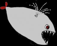 Torba ze Złą Rybą