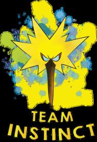 Pokemon Go - Plecak Team Instinct