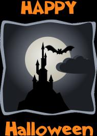 Koszulka Halloween - Zamek