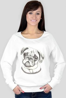 Bluza damska różne kolory - MOPS