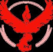 [POKEMON GO] Czapka: Team Valor - Red