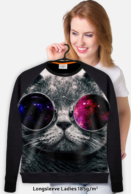 MELO PL - Bluza GALAXY CAT
