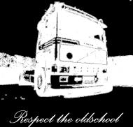 Respect the oldschool - Volvo2 T-shirt