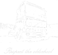 Respect the oldschool - Volvo2 bez rękawów