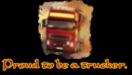 Proud to be a trucker - Czapka