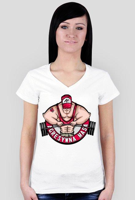 Koszulka damska Agresywna Masa
