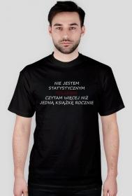 """Koszulka męska  """"Nie jestem statystycznym Polakiem..."""""""