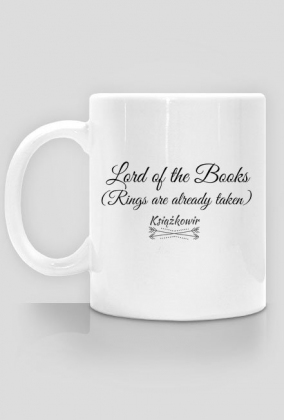 """Kubek """"Lord of the Books"""""""