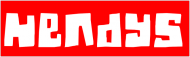 Triko - Hendys rudý nápis