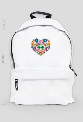 Serce Folk - plecak duży