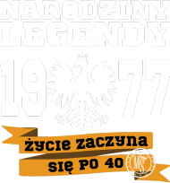 Narodziny Legendy 1977 (na 2017) for Cinek
