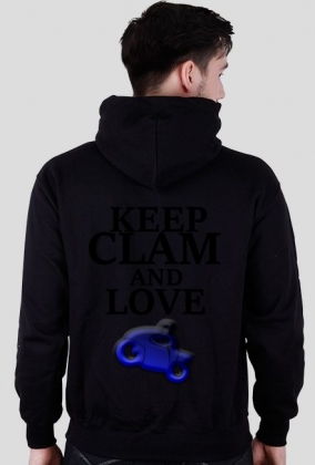 Keep Clame And Love Motorcycle