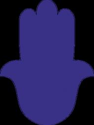 Ręka Fatimy Blue-Violet. Kubek