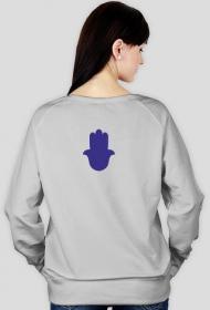 Ręka Fatimy Blue-Violet. Bluza damska