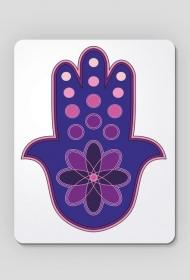 Ręka Fatimy Blue-Violet. Podkładka pod myszkę