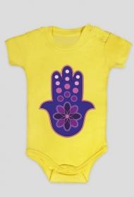 Ręka Fatimy Blue-Violet. Body niemowlęce