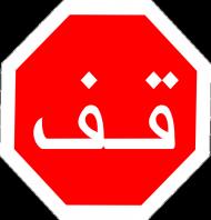 Arabski STOP: Bluza damska