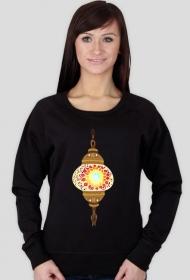 Lampa arabska. Bluza damska