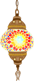 Lampa arabska. Portfel