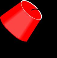 Czapeczka z Fezu. Kubek z kolorowym uchem